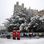 Cambridge Winter Scene | Duke House | City Centre Boutique Bed and Breakfast | Duke House, Cambridge, UK