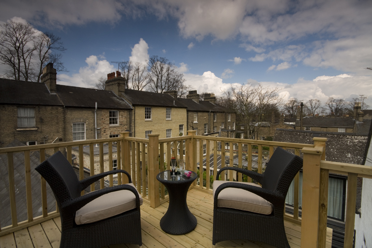 Cambridge Balcony | Duke House | City Centre Boutique Bed and Breakfast | Duke House, Cambridge, UK