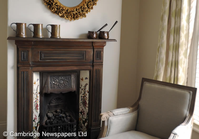 Gloucester Fireplace | Duke House | City Centre Boutique Bed and Breakfast | Duke House, Cambridge, UK